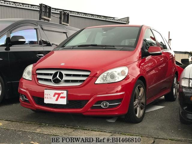 Used 2009 MERCEDES-BENZ B-CLASS BH466810 for Sale