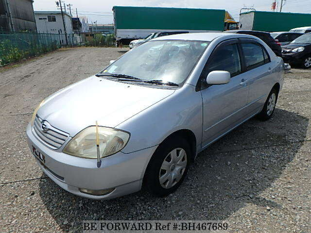 Used 2004 TOYOTA COROLLA SEDAN BH467689 for Sale