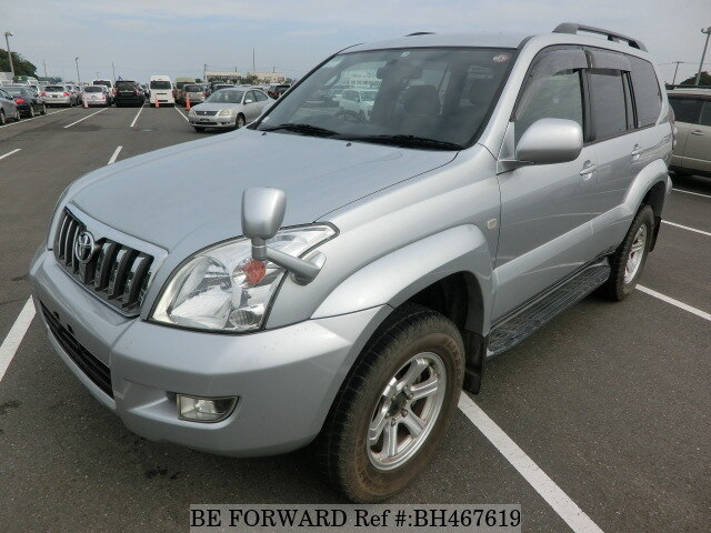 Used 2005 TOYOTA LAND CRUISER PRADO BH467619 for Sale
