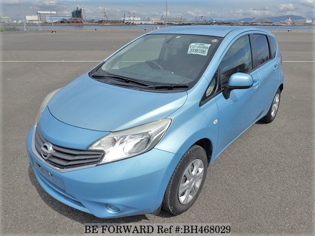 Used 2012 NISSAN NOTE BH468029 for Sale