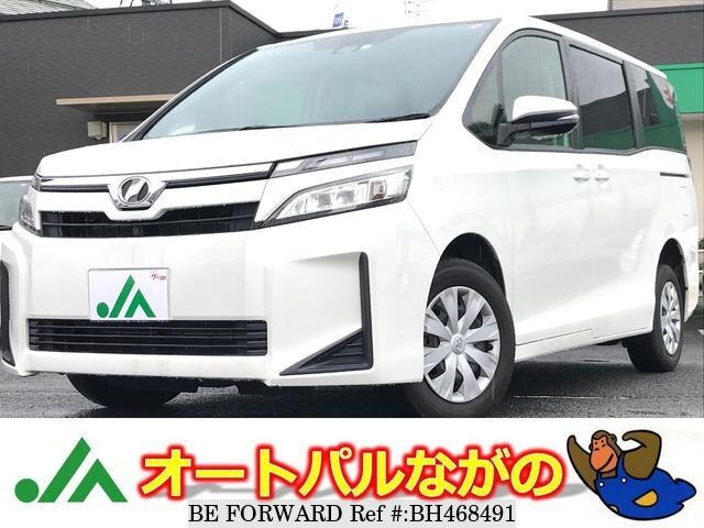 Used 2017 TOYOTA VOXY BH468491 for Sale