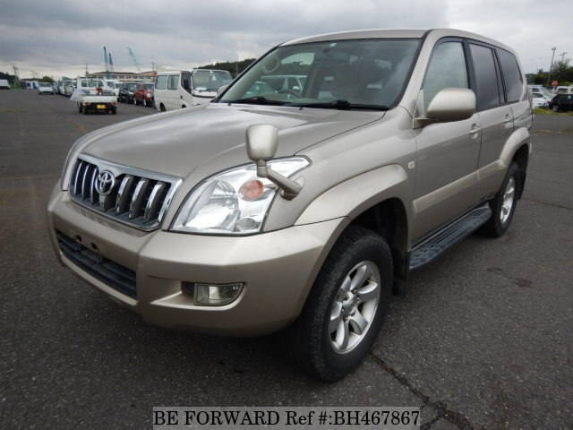 Used 2003 TOYOTA LAND CRUISER PRADO BH467867 for Sale
