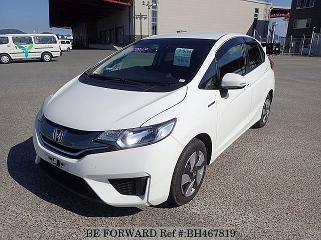 Used 2014 HONDA FIT HYBRID BH467819 for Sale