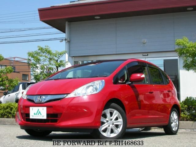 Used 2010 HONDA FIT HYBRID BH468633 for Sale