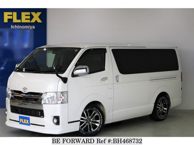 Used 2015 TOYOTA HIACE VAN BH468732 for Sale