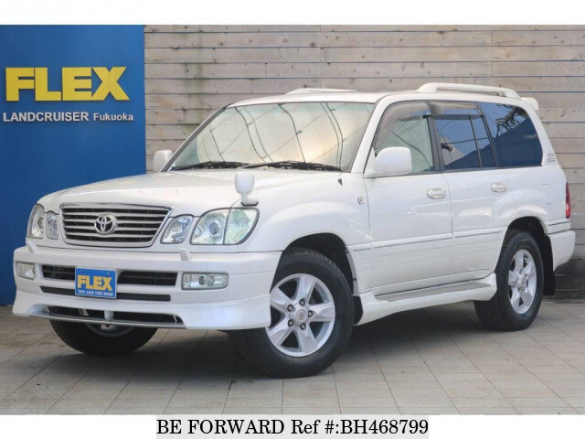 Used 2005 TOYOTA LAND CRUISER CYGNUS BH468799 for Sale
