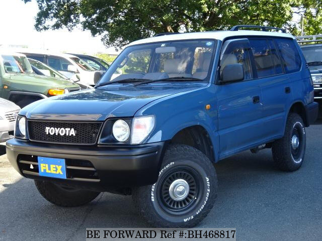 Used 1998 TOYOTA LAND CRUISER PRADO BH468817 for Sale