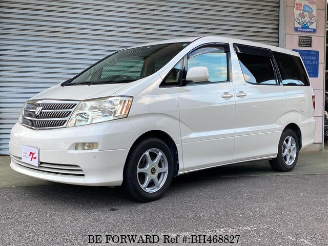 Used 2003 TOYOTA ALPHARD BH468827 for Sale