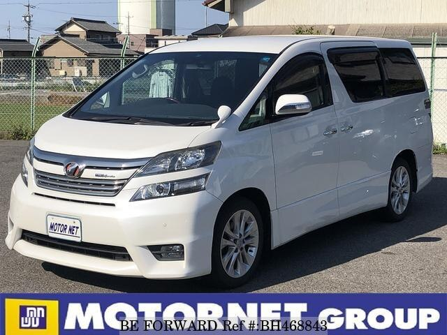 Used 2009 TOYOTA VELLFIRE BH468843 for Sale