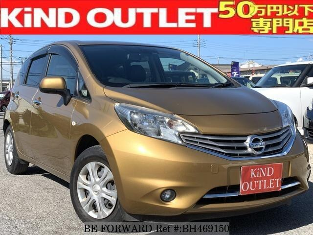 Used 2013 NISSAN NOTE BH469150 for Sale