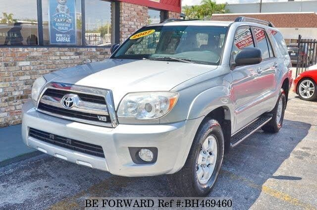 Used 2007 TOYOTA 4RUNNER BH469460 for Sale