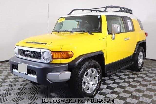 Used 2007 TOYOTA FJ CRUISER BH469494 for Sale