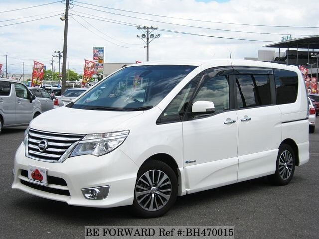 Used 2014 NISSAN SERENA BH470015 for Sale