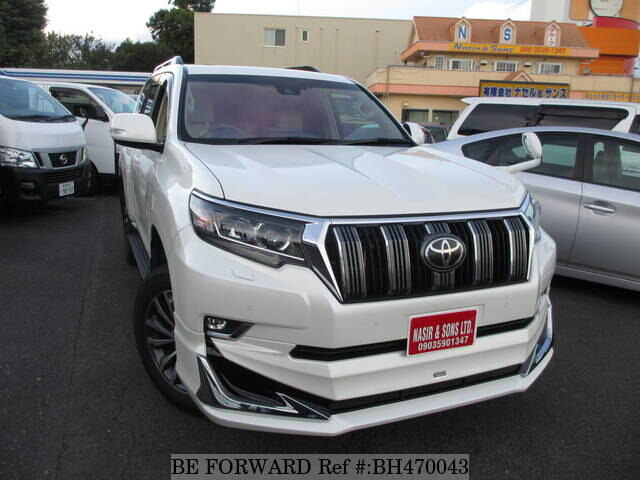 Used 2018 TOYOTA LAND CRUISER PRADO BH470043 for Sale