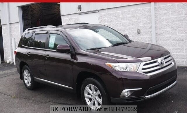 Used 2012 TOYOTA HIGHLANDER BH472032 for Sale