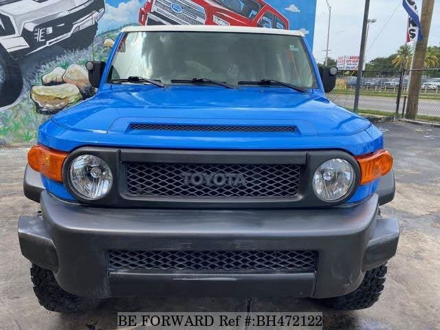 Used 2008 TOYOTA FJ CRUISER BH472122 for Sale