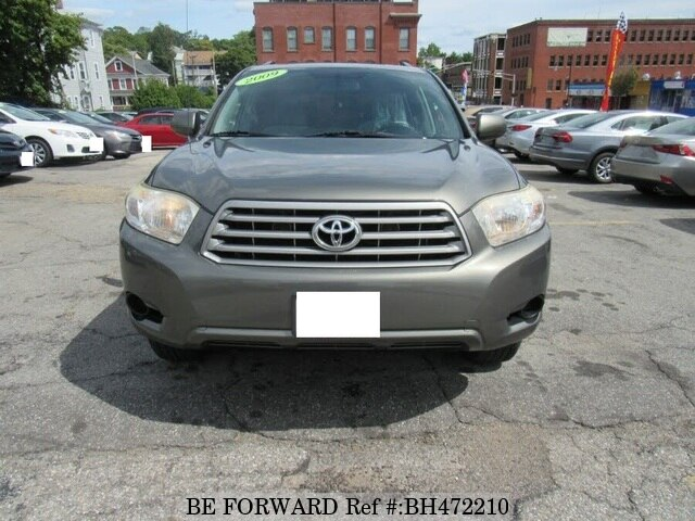 Used 2009 TOYOTA HIGHLANDER BH472210 for Sale