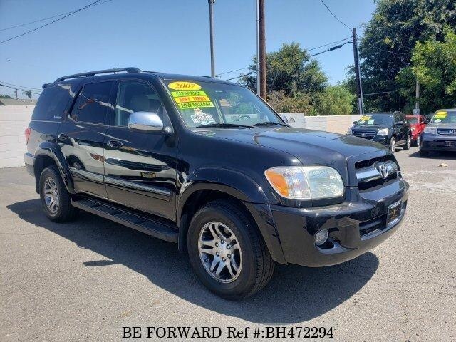 Used 2007 TOYOTA SEQUOIA BH472294 for Sale