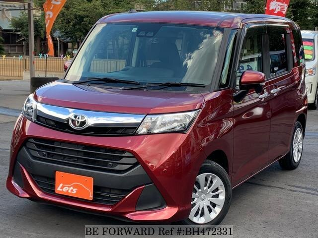 Used 2018 TOYOTA TANK BH472331 for Sale