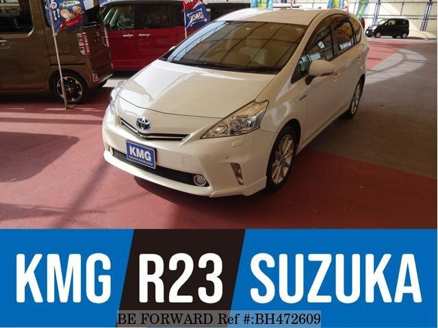 Used 2011 TOYOTA PRIUS ALPHA BH472609 for Sale