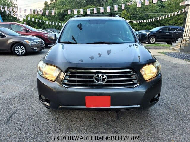 Used 2008 TOYOTA HIGHLANDER BH472702 for Sale