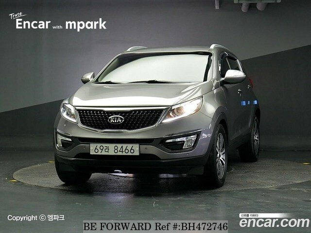 Used 2015 KIA SPORTAGE BH472746 for Sale