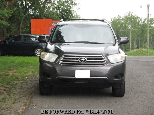 Used 2008 TOYOTA HIGHLANDER BH472751 for Sale