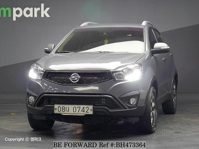 Used 2015 SSANGYONG KORANDO BH473364 for Sale