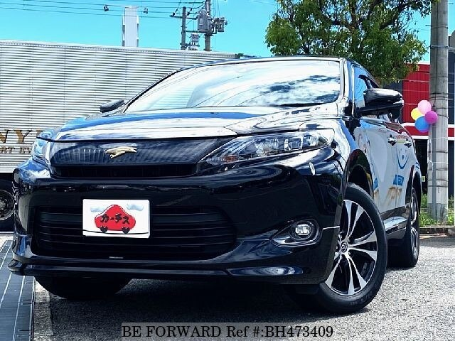 Used 2016 TOYOTA HARRIER BH473409 for Sale