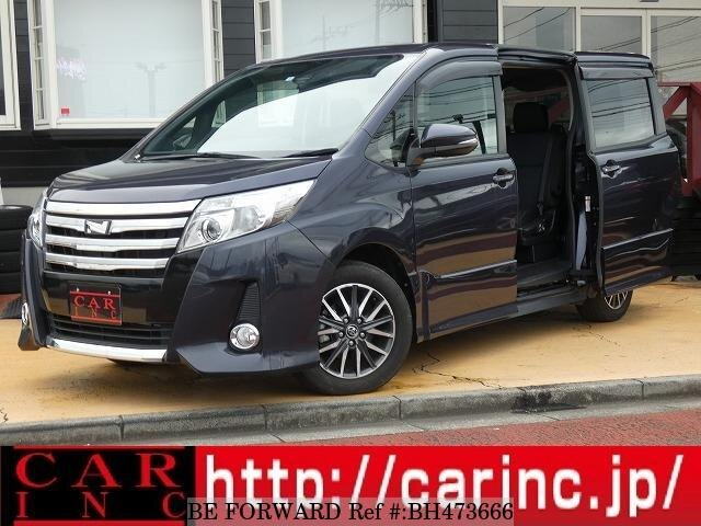 Used 2016 TOYOTA NOAH BH473666 for Sale