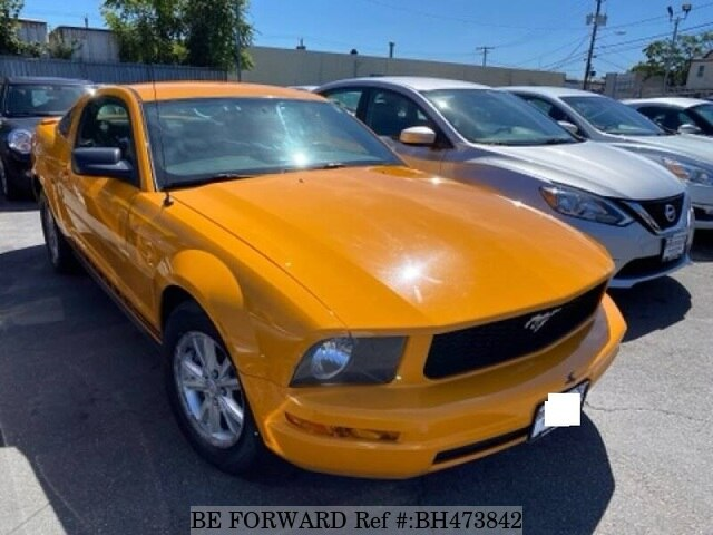 Used 2008 FORD MUSTANG BH473842 for Sale