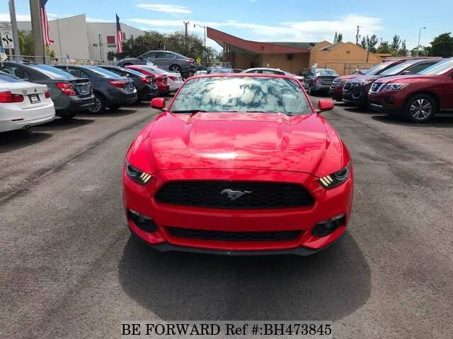 Used 2016 FORD MUSTANG BH473845 for Sale