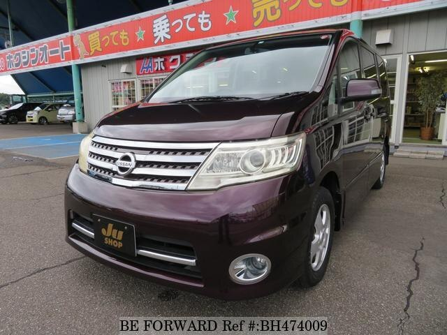 Used 2009 NISSAN SERENA BH474009 for Sale