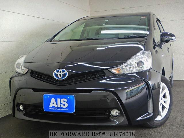 Used 2015 TOYOTA PRIUS ALPHA BH474018 for Sale