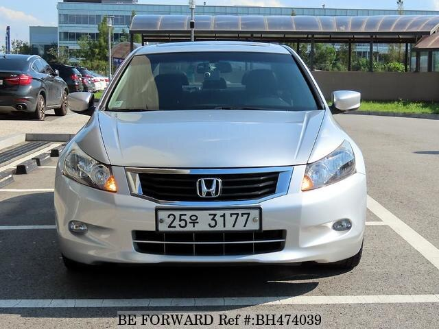 Used 2008 HONDA ACCORD BH474039 for Sale