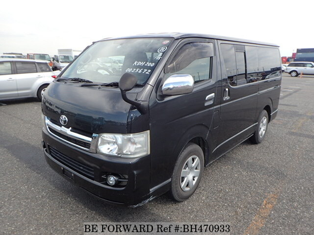 Used 2005 TOYOTA HIACE VAN BH470933 for Sale