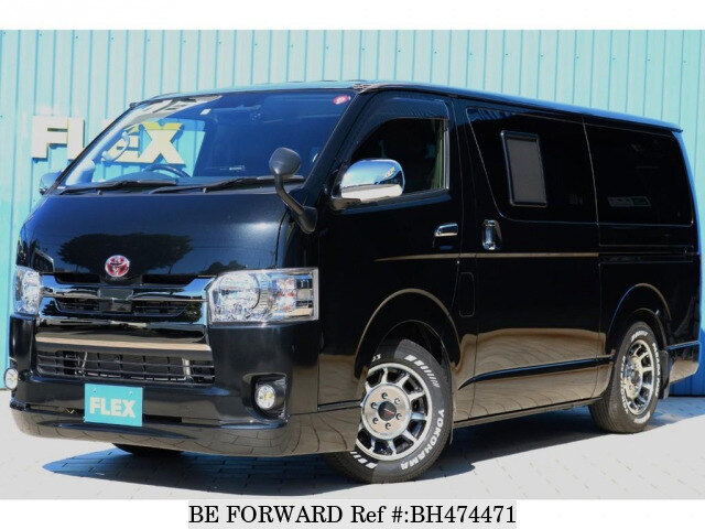 Used 2018 TOYOTA HIACE VAN BH474471 for Sale