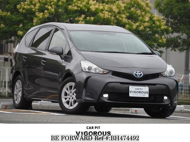 Used 2016 TOYOTA PRIUS ALPHA BH474492 for Sale