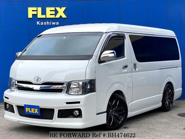 Used 2011 TOYOTA HIACE WAGON BH474622 for Sale