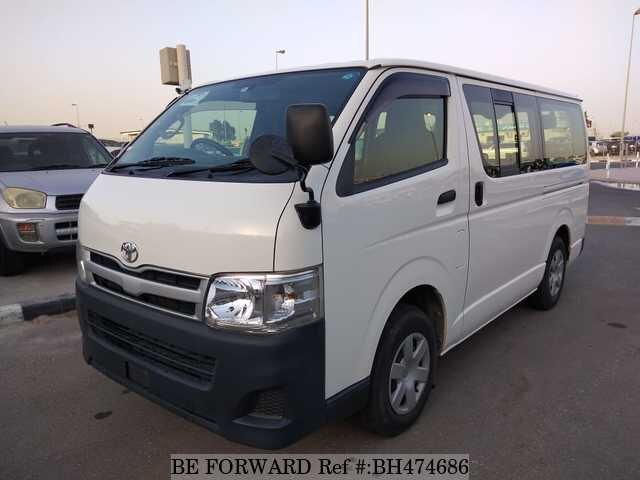 Used 2013 TOYOTA HIACE VAN BH474686 for Sale