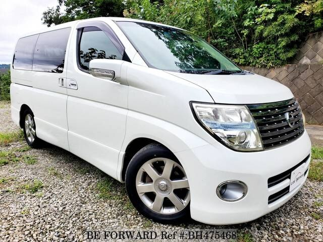 Used 2006 NISSAN ELGRAND BH475468 for Sale