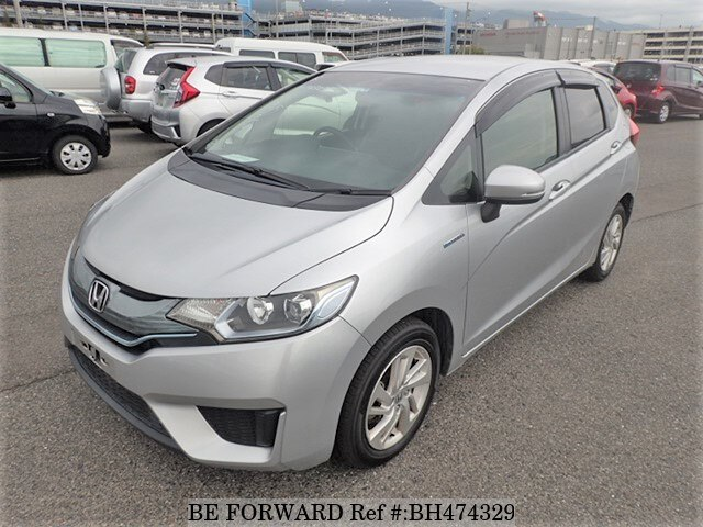 Used 2014 HONDA FIT HYBRID BH474329 for Sale