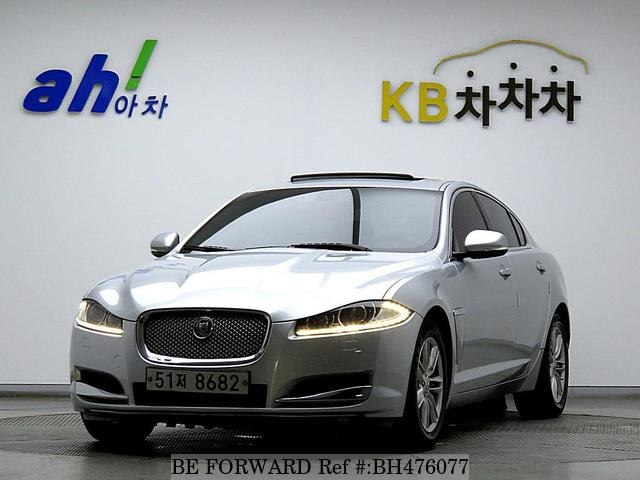 Used 2012 JAGUAR XF BH476077 for Sale