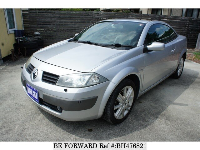 Used 2005 RENAULT MEGANE BH476821 for Sale