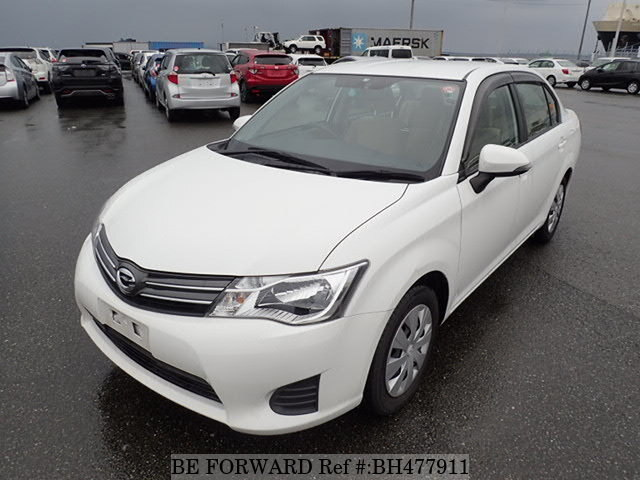 Used 2015 TOYOTA COROLLA AXIO BH477911 for Sale