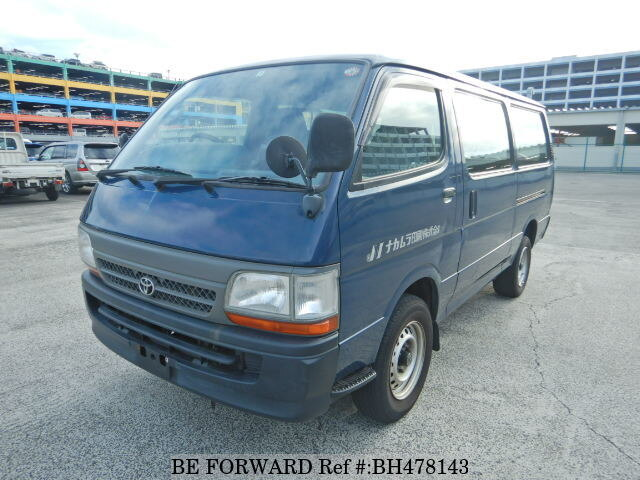 Used 2003 TOYOTA HIACE VAN BH478143 for Sale