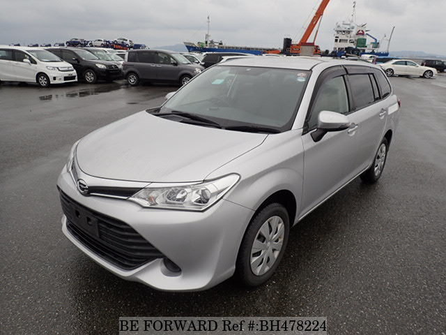 Used 2015 TOYOTA COROLLA FIELDER BH478224 for Sale