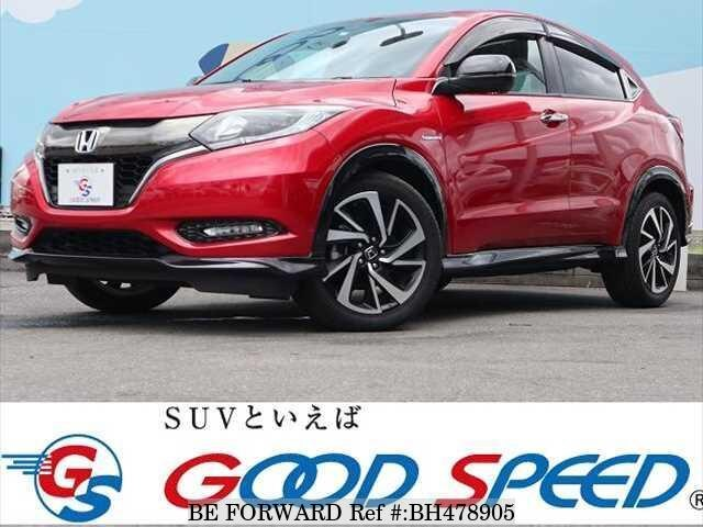 Used 2017 HONDA VEZEL BH478905 for Sale
