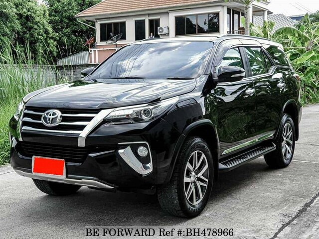 Used 2016 TOYOTA FORTUNER BH478966 for Sale