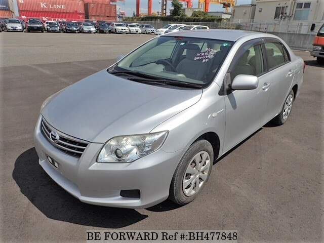 Used 2011 TOYOTA COROLLA AXIO BH477848 for Sale